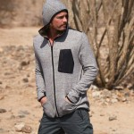 Mens Zip-Up Hooded Fleece